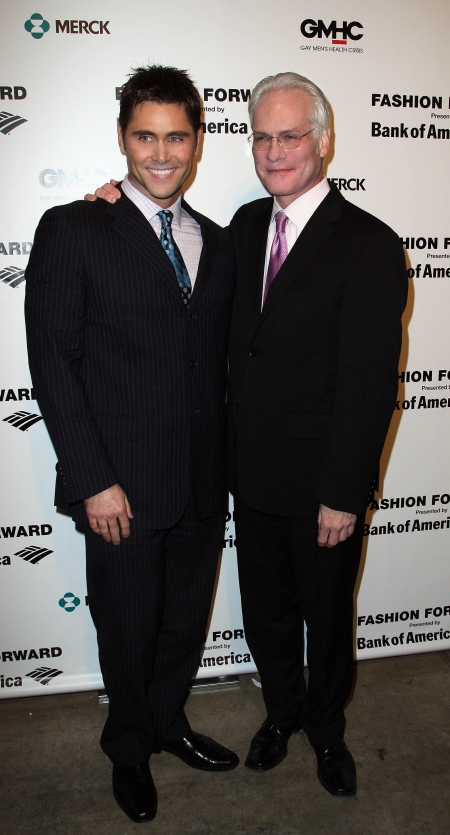 Me and Tim Gunn at Fashion Forward