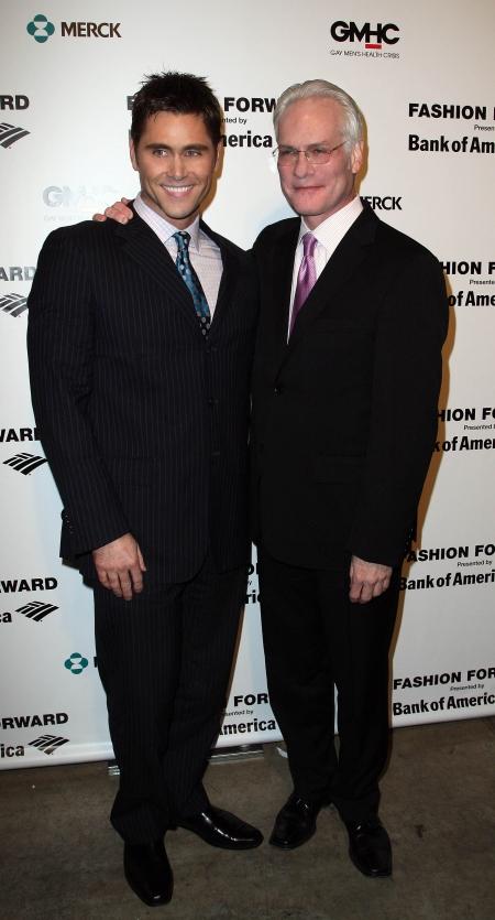 Me and Tim Gunn at Fashion Forward