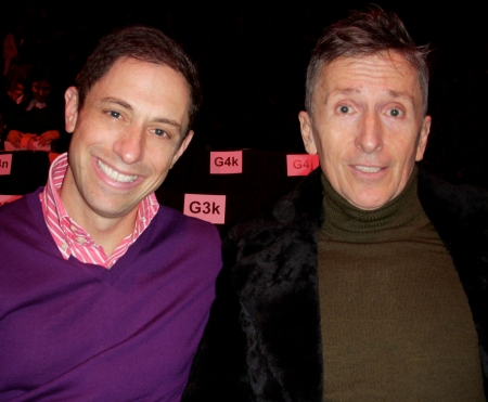 The talent couple Johnathan Adler and Simon Doonan