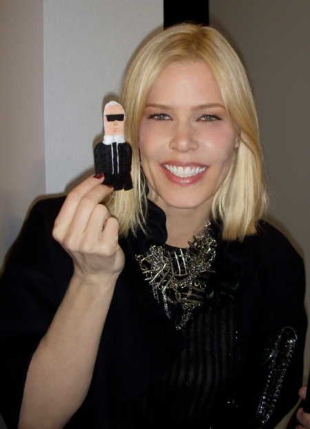 Stylist and Harper's Bazaar consultant: gorgeous Mary-Alice Stephenson