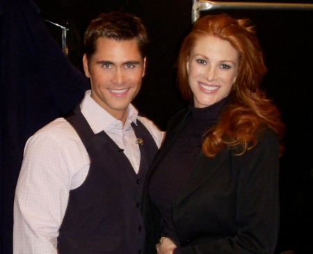 The flawless Angie Everhart.