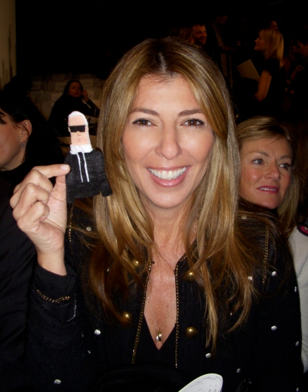 Karl loves Nina Garcia!