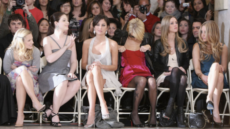 Kristen Bell, Michelle Trachtenberg, Jessica Stroup, Paris, Nicky and Amanda Bynes