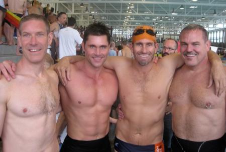 Rob Hermanet, me, Dake Gonzalez, Todd Cooper